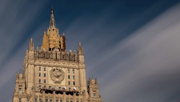 МИД РФ озабочен решением Порошенко по особому статусу Донбасса