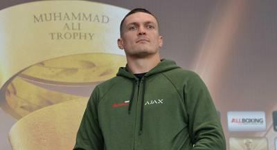 Боксер Усик обещал «жахнуть по животикам» депутатам Рады