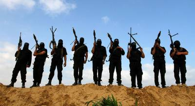 Первая группа вооружённых повстанцев покинула Идлиб