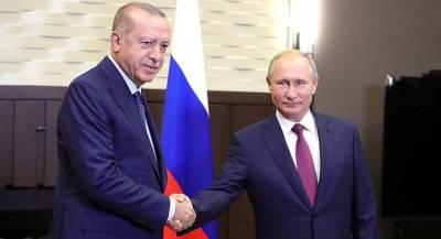 Пентагон оценил встречу Путина и Эрдогана