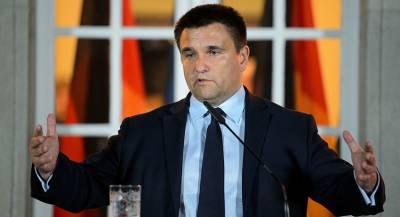 Климкин заявил об экзистенциальном конфликте с РФ