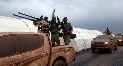 Армия Сирии атаковала террористов в Идлибе
