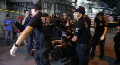 14 человек пострадали во время взрыва на Филиппинах