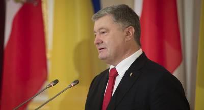 Порошенко введёт санкции против России