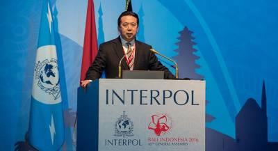 Глава Интерпола ушёл в отставку