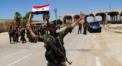 Большой конвой САА прибыл на запад Алеппо