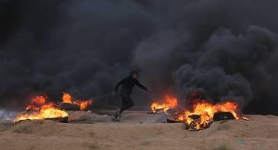 Палестинцы пытались заложить бомбу у забора сектора Газа