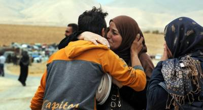 Сотни сирийских беженцев вернулись из Ливана