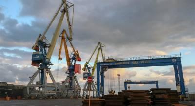 Украина арестовала крупный российский груз в Мариуполе