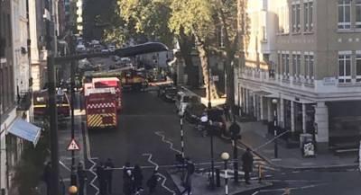 Пожар произошёл у посольства Саудовской Аравии в Лондоне