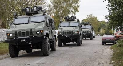 Киев перебросил в Донбасс тяжёлую технику
