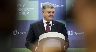 Порошенко: выборы в Донбассе пройдут «под дулами автоматов»