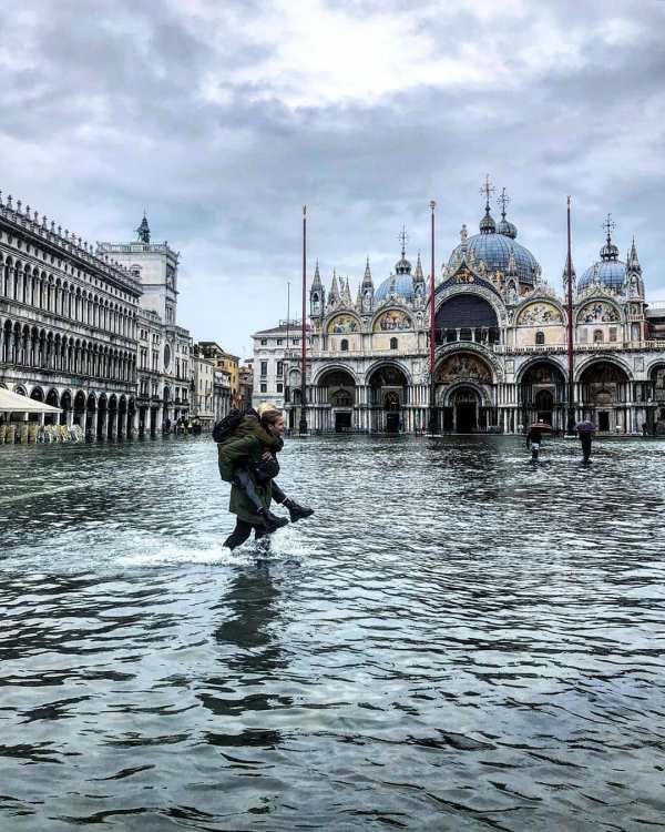Наводнение в Венеции 2019: фото и видео | Факты ICTV