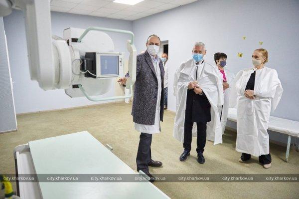Терехов открыл еще одно отделение для больных ...