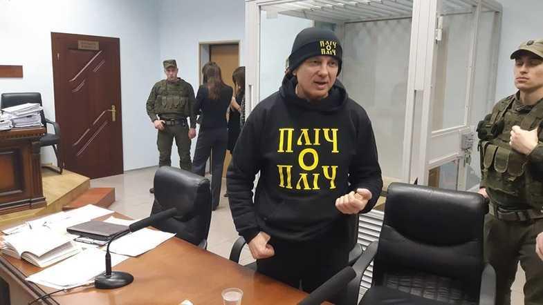 Тимофей Нагорный в суде