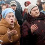 «Бабушки» та «заказуха». Чергова замовна акція проти мера Києва Віталія Кличка.