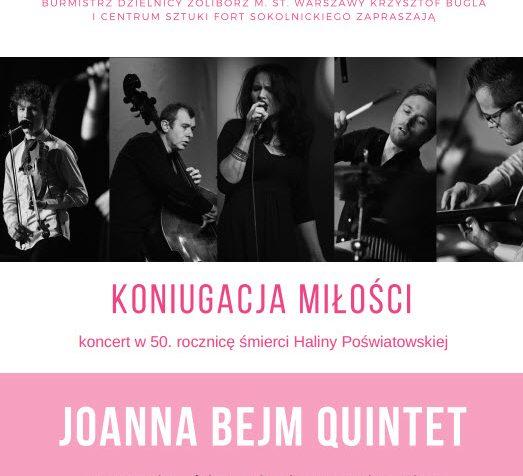 """Filharmonia Opolska zaprasza na koncert pt. """"Koniugacja miłości"""" w wykonaniu zespołu Joanny Bejm"""
