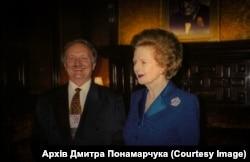 Чорновіл дружив зі світовими лідерами демократичного світу. Разом із Маргарет Тетчер. Фото з архіву Дмитра Понамарчука