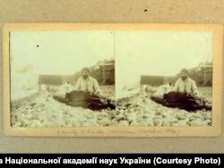 Леся Українка (Лариса Косач) та її брат Михайло у Криму. 1897 рік