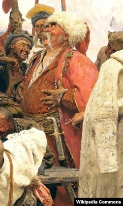 Олександра Рубця зобразив на своїй картині «Запорожці» Ілля Рєпін (Ріпин), який для замальовок спеціально приїздив до Стародубу