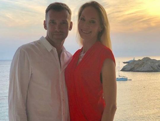 Шевченко с женой побывали на юбилее Мальдини (фото) - «ФАКТЫ»