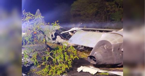 Крушение самолета в Чугуеве - погибли 7 офицеров и 20 ...