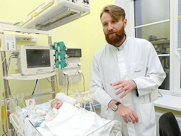 Киевские кардиохирурги прооперировали ребенка в первые ...