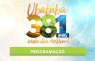 Ubatuba comemora 381 anos de aniversário com programação variada
