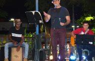MPB invade Coreto com apresentação do músico Fernando Montemor
