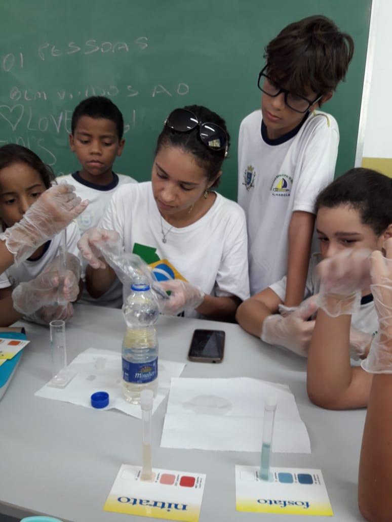 Dia Mundial da Água é tema nas atividades pedagógicas de Ilhabela
