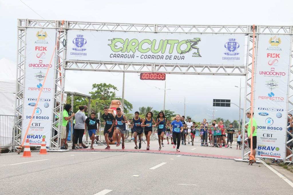 Caraguatatuba abre inscrições para a 1ª Etapa do Circuito Caraguá de Corrida de Rua