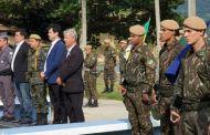 Exército Brasileiro finaliza treinamento em São Sebastião