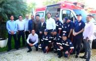 SAMU de Caraguatatuba ganha duas novas ambulâncias e renova 100% da frota