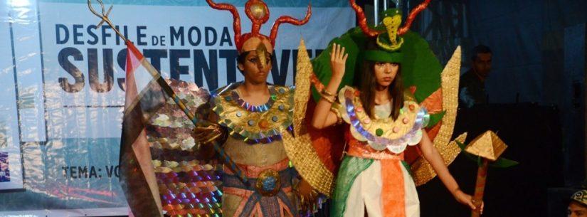 Desfile de Moda Sustentável é contagiado pelo Egito e seus encantos