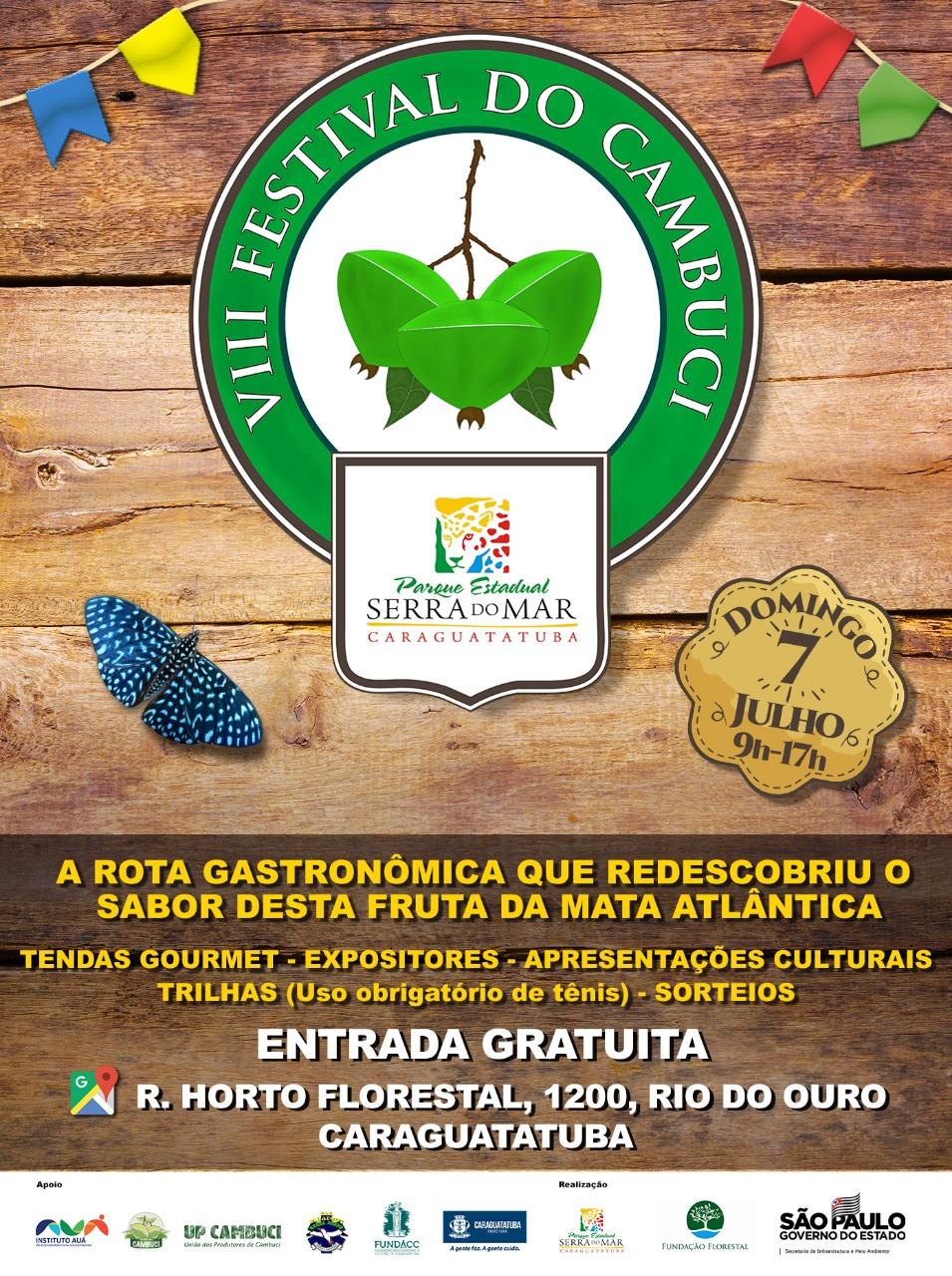 PESM realiza VIII Festival Gastronômico do Cambuci com diversas atrações e trilha gratuita para comunidade