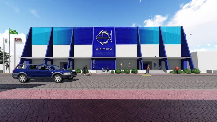 Prefeitura de São Sebastião constrói maior ginásio poliesportivo do município na Topolândia