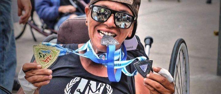 Remando a favor da inclusão, paratleta representa Caraguatatuba em competição de canoagem