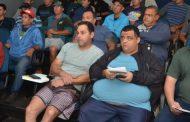Mais de 30 pescadores participam da reunião sobre o Plano de Manejo da APA Marinha