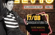 Teatro Mario Covas recebe espetáculo musical 'Elvis – The Legend of History'