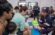 Prefeitura de São Sebastião promove treinamento de primeiros socorros no CIAMA Costa Sul