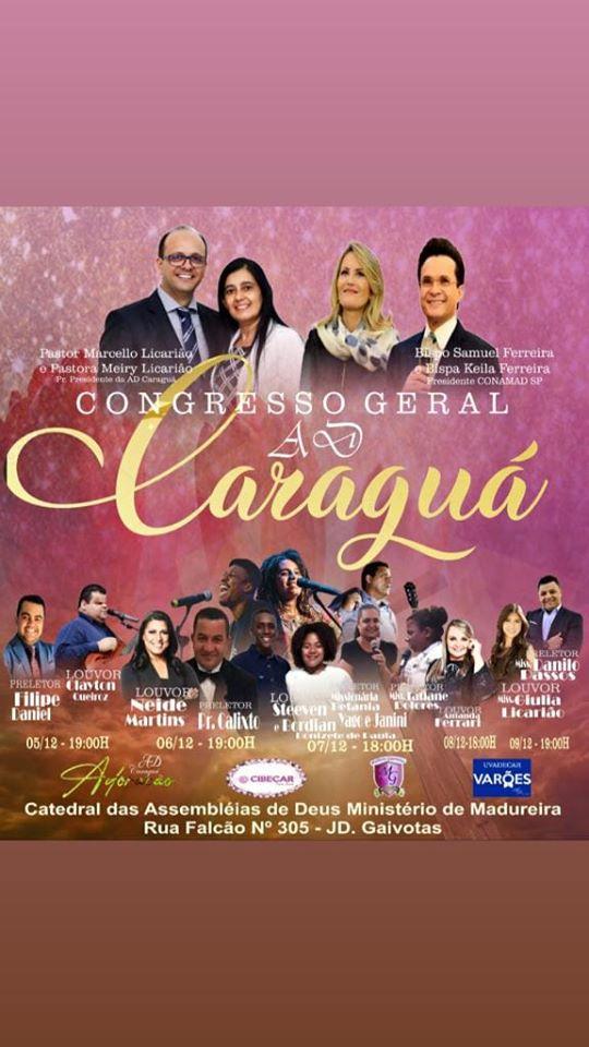 CONGRESSO GERAL AD CARAGUÁ