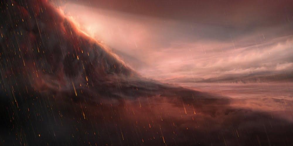 Hujan Besi pulak dah di eksoplanet WASP-76b
