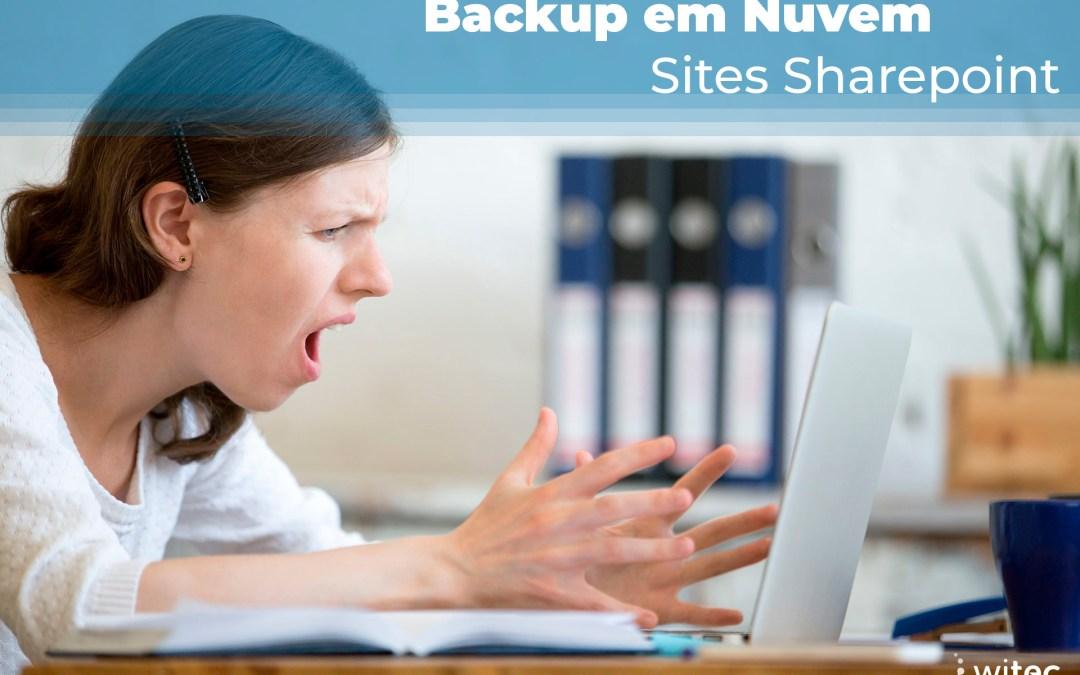 Backup em Nuvem Sites Sharepoint