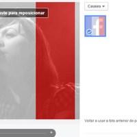 """Ter avatar da França no perfil não te torna """"imperialista'' e menos preocupado com outras tragédias."""