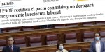 Acuerdos PSOE, Podemos y Bildu