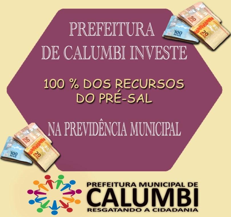 Calumbi - Previdência