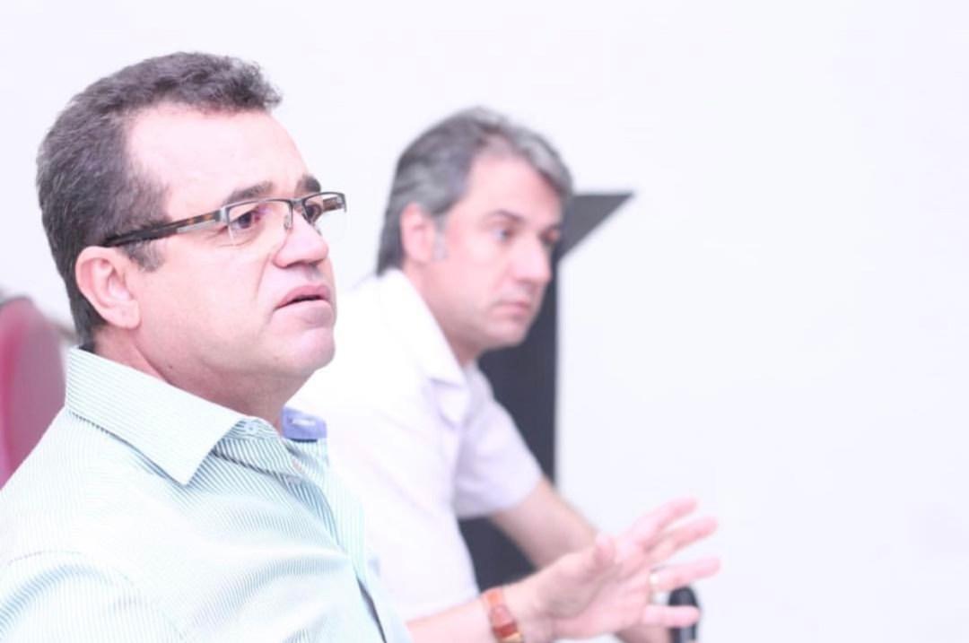 Com Gilmar Freire