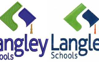 langley Cap logo