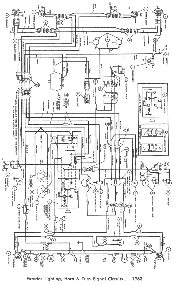 Wiring Harness For 63 Ford Falcon Ranchero Wiring Forums