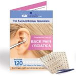 Back pain and sciatica ear seeds kit